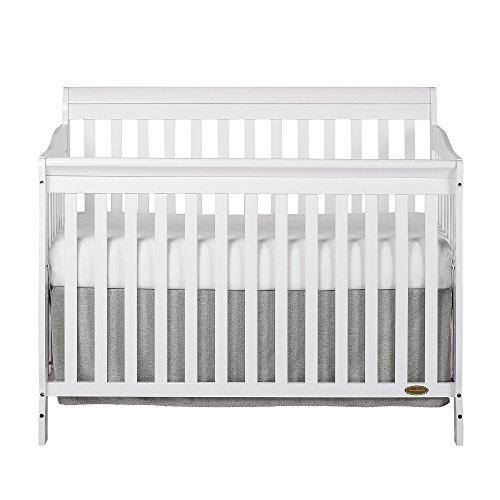 Dream On Me, Ashton 5-in-1 Convertible Crib, White