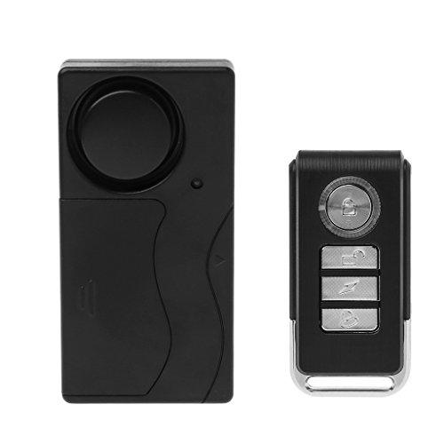 COLUDOR Funkfernbedienung Vibrationsalarm Sensor für Autofenster Tür Zuhause Sicherheit