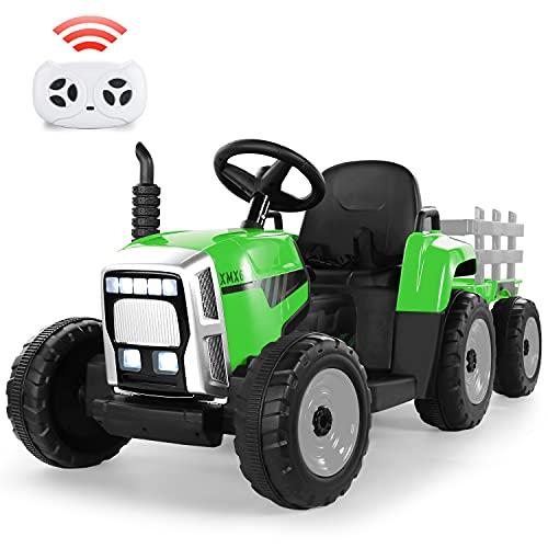 Tractor Eléctrico 12V 7Ah, 2+1 Cambio de Marchas,...