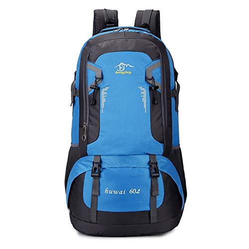 40L / 60L Sac À Dos Étanche Randonnée Outdoor Sacs À Dos De Sport Daypack Durables Randonnee (Couleur : Blue-I, Taille : S)