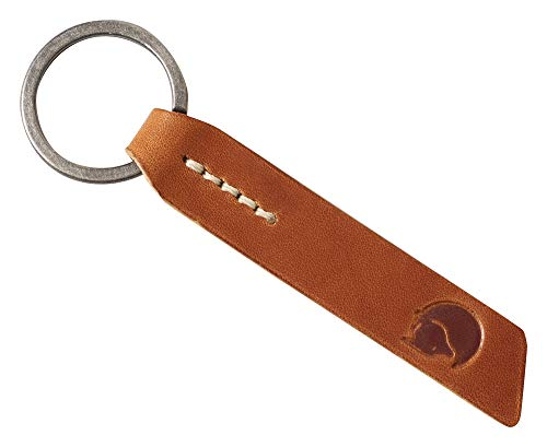 FJÄLLRÄVEN Ovik Keyring Schlüsselanhänger, Leather Cognac, One Size