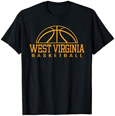 West Virginia Basketball Player W Va Team Mountaineer State T Shirt product image