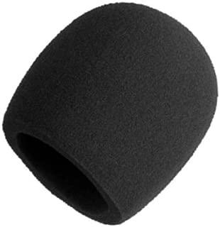 Shure A58WS-BLK Foam Windscreen for All Shure Ball Type Microphones, Black