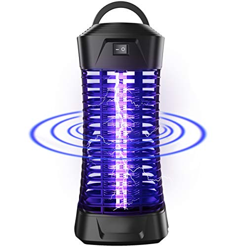 Bug Zapper Electric Mosquito Zapper Killer,Flying Insect Pest Trap Electronic Anti Pest Control Lights for Bedroom Kitchen Toilet Garden Home Indoor Use