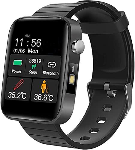 QHG Deportes de Salud Reloj Inteligente Ratón cardíaco Presión Arterial Monitor de oxígeno Seguimiento de Actividades Bluetooth Call Recordatorio Fitness Tracker