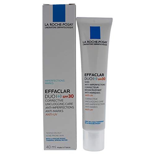 La Roche Posay Effaclar Duo+ FPS 30 Crema Facial Anti-Imperfecciones con Protector Solar para Piel Grasa, 40 ml
