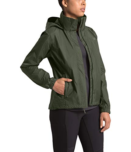The North Face Women's Resolve Jacket, New Taupe Green, M