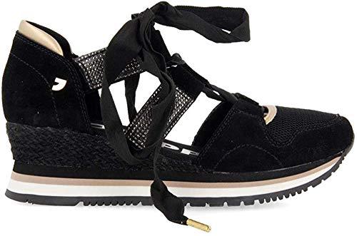 GIOSEPPO MUSTIQUE, Zapatillas sin Cordones Mujer, Negro, 39 EU