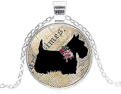 LBBYMX Co.,ltd Necklace Fashion Pug Dog Vintage Necklace Art PO Glass Cabochon Pendant Necklace Handmade Jewelry