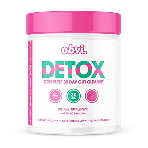 Obvi Detox, Flush Out and Eliminate Toxins, Cleanse Colon, Reduce Bloating, All Natural (30 Servings)