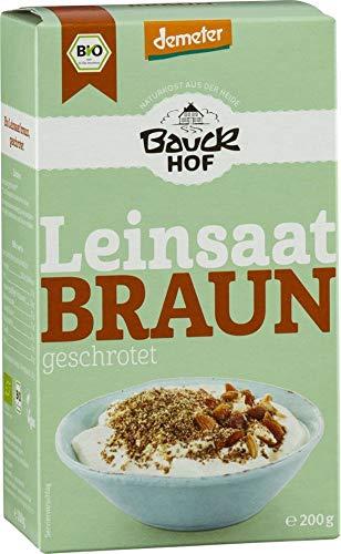 Bauckhof Bio Leinsaat geschrotet (6 x 200 gr)