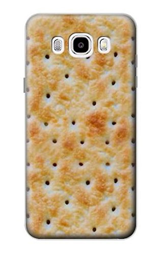 Innovedesire Cream Cracker Biscuits Funda Carcasa Case para Samsung Galaxy J5 (2016)