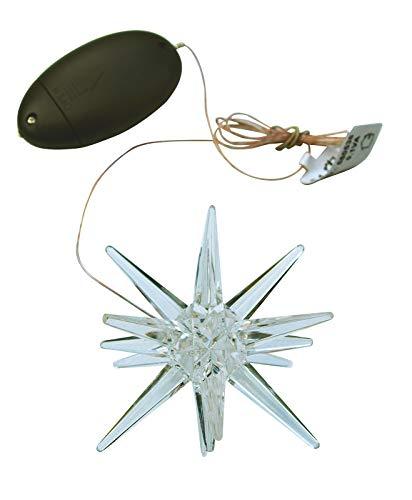 Weihnachtsstern, Acryl Stern mit LED Farbwechsel - Super Weihnachtsgeschenk, Leuchtartikel, Christmas Dekoration, Fensterdeko.