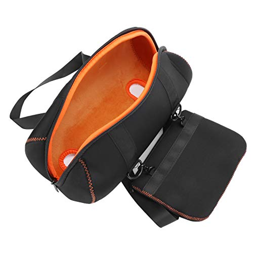 Dilwe 31,5 x 11,5 x 12 cm Bolsa de Almacenamiento Portátil para Altavoz para Xtreme 2, Funda Protectora de Color Negro para Altavoces Portátiles Bluetooth, Accesorios para Altavoz para Xtreme 2