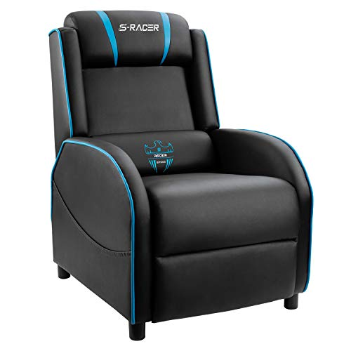 Homall Gaming Recliner Chair Single Living Room Sofa Recliner PU Leather...