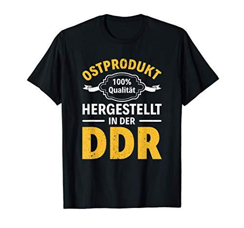 DDR Ostdeutschland Osten Ostalgie Ossi Ostdeutscher Geschenk T-Shirt