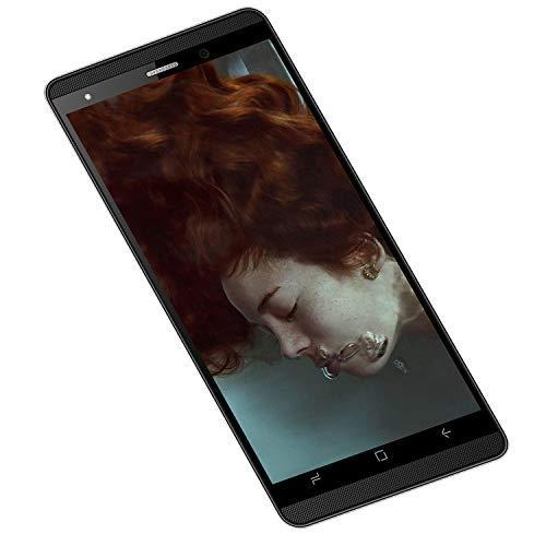 Telephone Portable Pas Cher 4G, 16Go ROM, 5.0 Pouces, 5MP Android 9,0 Dual SIM Telephone Portable Debloque 2800mAh WiFi GPS Bluetooth 4.0 Smartphone Pas Cher sans Forfait (Noir.)