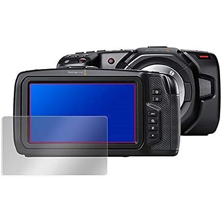 Blackmagic Pocket Cinema Camera 4K / Blackmagic Pocket Cinema Camera 6K 用 日本製 目に優しい ブルーライトカット液晶保護フィルム OverLay Eye Protector