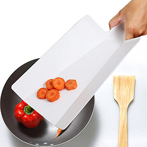 Tabla de cortar plástica de la almohadilla de corte plegable de la pulpa de verduras Multi-función de la tabla de cortar de la cocina Gadgets de la carne de China, azul, 250x160x15mm