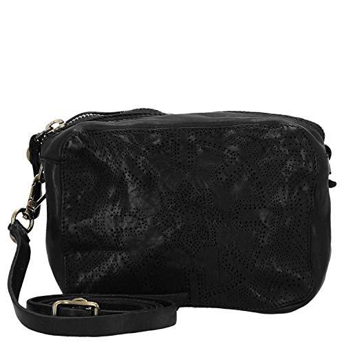 Campomaggi Bowling Bag/Umhängetasche 20 cm Black