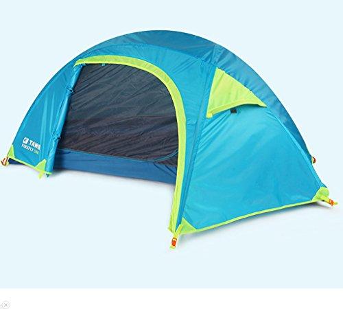T/g/y/h Y/w/p/e Tente Simple de Sac à Dos de Double-Couche, pêche extérieure Ultra-légère de pêche de Tente extérieure for la Tente for 2-3 Personnes