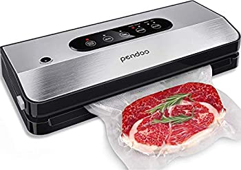 Pendoo Automatic Food Vacuum Sealer Machine with Low Noise