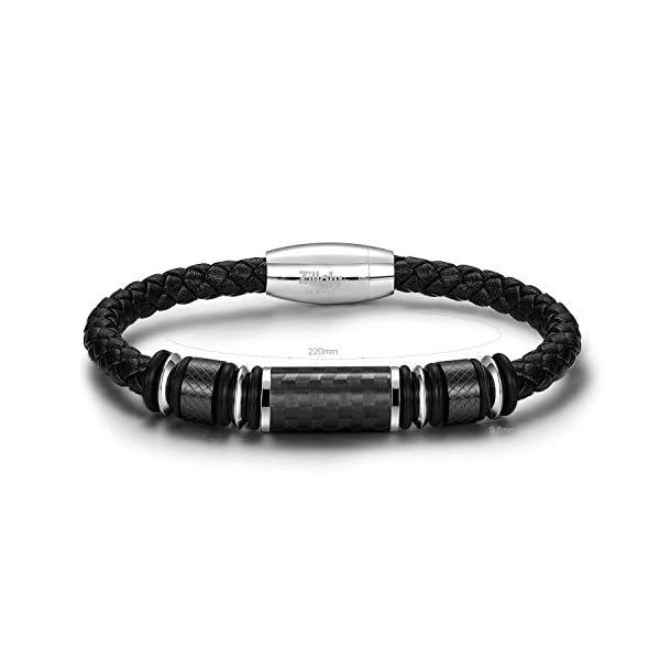 Two-Tone Square Link Diamond Bracelet 1