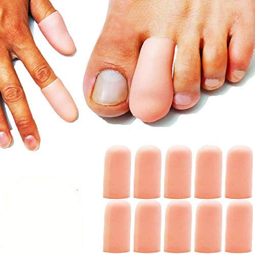 Tapas de dedo Nude-Transparente