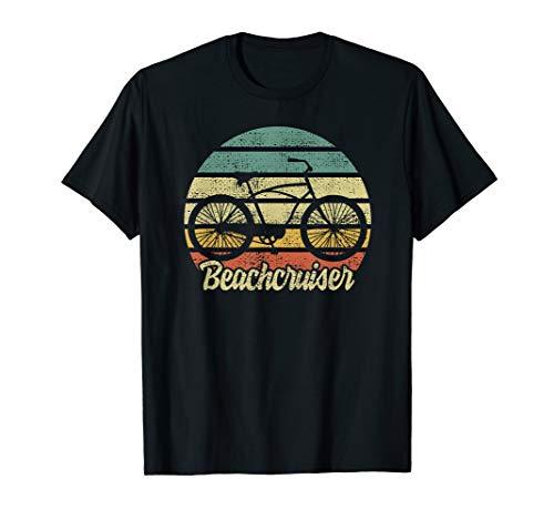 Beachcruiser Beach Strand Meer Surfer Wellenreiter retro T-Shirt