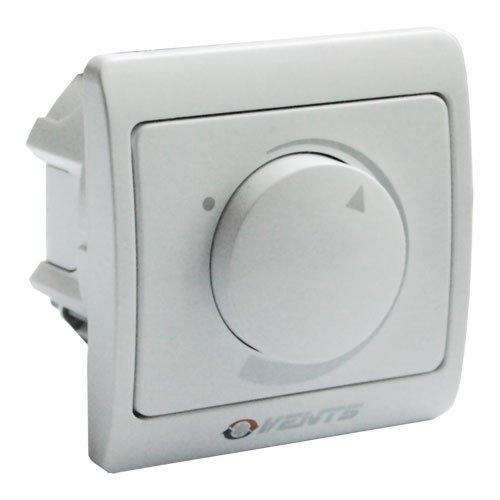 Stufenloser Drehzahlregler / Dimmer / Drehzahlregler 230V / 400W für Aufputz- und Unterputz-Montage