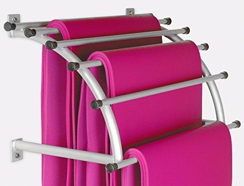 Sport-Thieme Aufhängekonsole für Gymnastikmatten, Für Matten bis 120 cm Breite