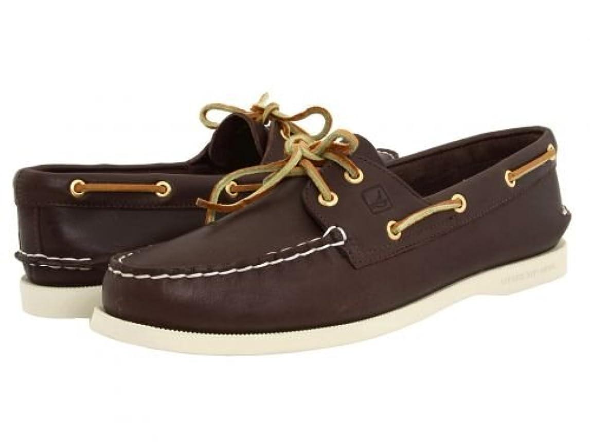 どこにも極端ななぞらえるSperry(スペリー) レディース 女性用 シューズ 靴 ボートシューズ A/O 2 Eye - Brown 6.5 W (C) [並行輸入品]