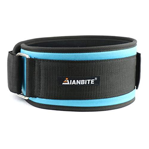 Mabor Cinturón de la cintura de la fuerza de la moda accesorio de moda equipo de fitness levantamiento de pesas cinturón de entrenamiento cómodo cinturón de elevación