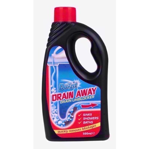 2x Duzzit con drenaje desagüe desatascador ecológico líquido formular 500ml fregadero baño ducha