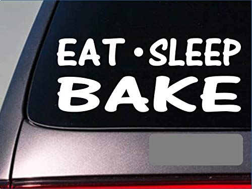 Tollyee Auto Decals en Stickers Eet Slaap Bak Sticker *G781* 8