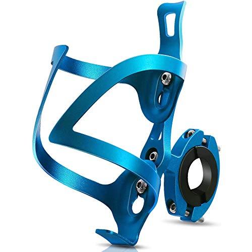 ROADNADO Portabidones para bicicleta, ultraligero, aleación de aluminio, soporte para botellas, soporte para bebidas para bicicletas de montaña y de montaña