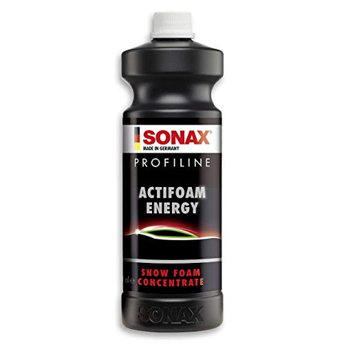 Sonax Profiline Actifoam energy (1 L) Est Un Puissant Produit Détergent À Haut Pouvoir Moussant pour Le lavage Manuel des Véhicules   Réf: 06183000