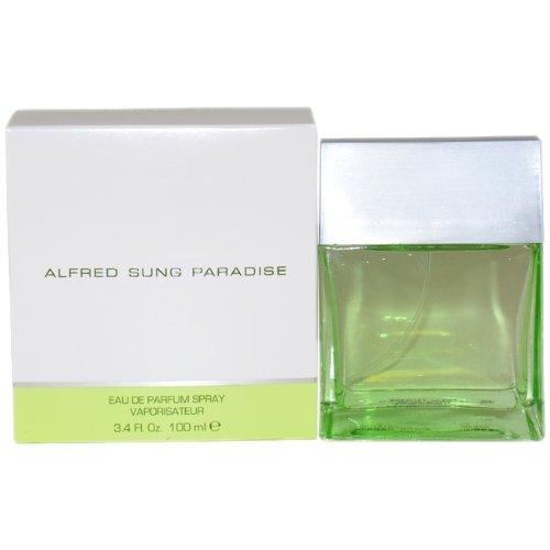 Paradise By Alfred Sung For Women. Eau De Parfum Spray 3.4 Oz