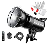 Godox SL60W LED Video Light,CRI95+ Qa90 5600±300K Bowens Mount Led Continuous Video Light,Wirelessly Adjust Brightness, 433MHz Grouping System+Pergear Diffuser