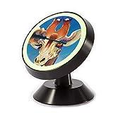 xcozu, supporto magnetico per telefono – giraffa si applica il mascara sulle sue ciglia, supporto per telefono da auto girevole a 360 gradi, compatibile con tutti gli smartphone