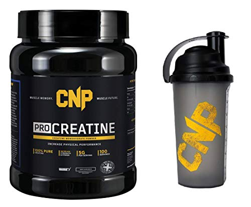 CNP Professional Creatine, 500g, with 700ml CNP Shaker