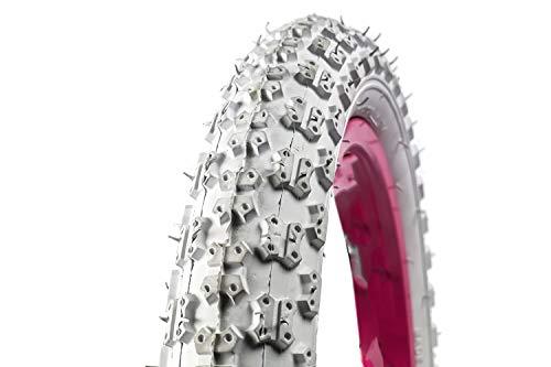 14 Zoll 14x 2.125 Fahrrad Reifen 54-254 Kinder Wagen Roller Laufrad weiß B-Ware