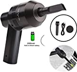 Keyboard Cleaner Powerful Rechargeable Mini Vacuum Cleaner,Cordless Portable...