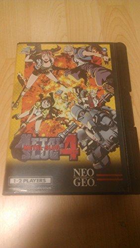 Metal Slug 4 - NeoGeo AES - JAP