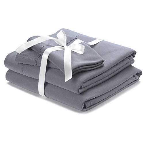 Wicked Sheets Original Moisture-Wicking Bed Sheet Set/for Night Sweats & Hot Flashes (Twin,...