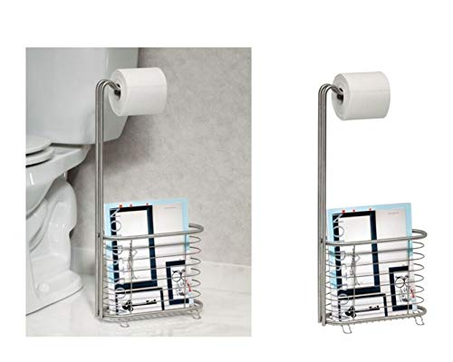 Top 10 best selling list for interdesign forma free standing toilet paper holder