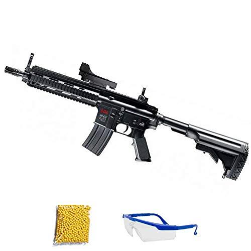 HK 416 CQB M5 - Metralleta de Airsoft Calibre 6mm (Arma Larga de Aire Suave de Bolas de plástico o PVC). Sistema: ELÉCTRICO 0.5 Julios