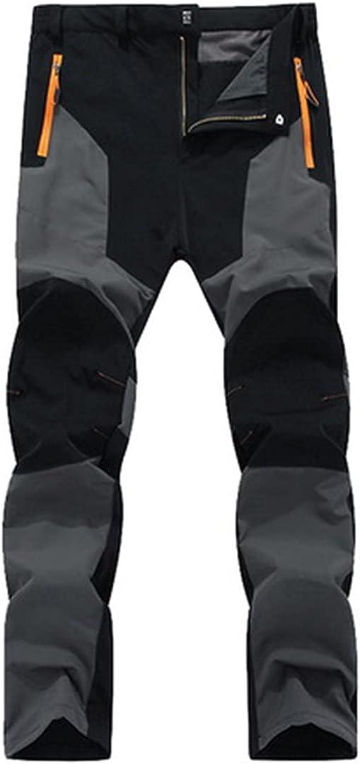 Zichhing Mens Spring/Autumn Waterproof Sweatpants Men's Trousers