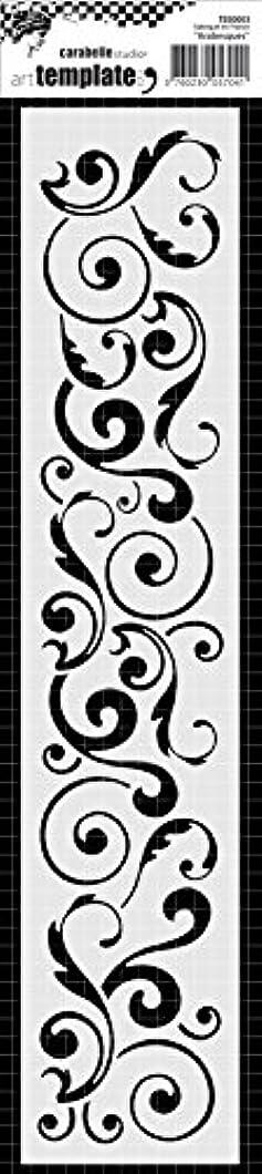 Carabelle Studio Art Stencil Edge 6x29cm