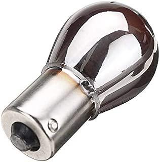 Soberbarus Chrome Silver Amber Rear Indicator Bulbs 581 BAU15S PY21W Turn Signal S25 12V